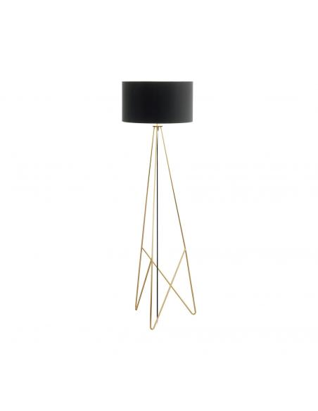 EGLO 39231 - CAMPORALE Lámpara de Salón en Acero latón y Textil