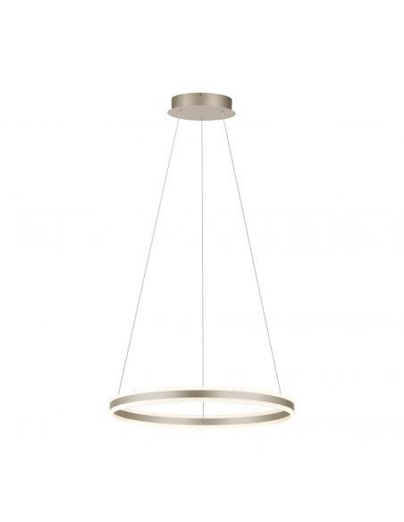 EGLO 39313 - TONARELLA Lámpara colgante LED en Acero champán y Acrílico