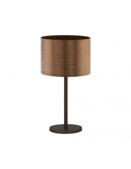 EGLO 39394 - SAGANTO 1 Lámpara de Salón en Acero marrón y Acrílico