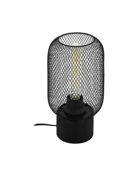 EGLO 43096 - WRINGTON Lámpara de Salón en Acero negro