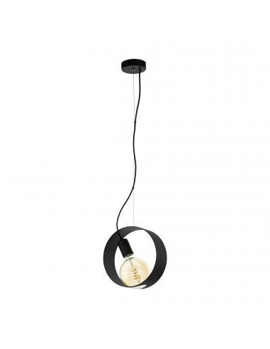 EGLO 43128 - MAIDENHEAD Lámpara colgante LED en Acero negro