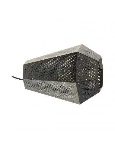 EGLO 43225 - CHIAVICA Lámpara de Salón en Acero nickel-negro