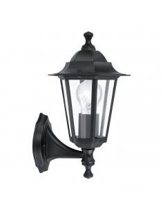 EGLO 22468 - LATERNA 4 Lámpara de pared en Fundición de aluminio y Vidrio