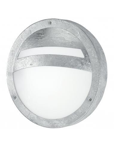 EGLO 88119 - SEVILLA Lámpara de pared / techo en Acero y Vidrio satinado