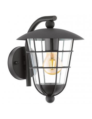 EGLO 94841 - PULFERO Lámpara de pared en Acero galvanizado y Acrílico