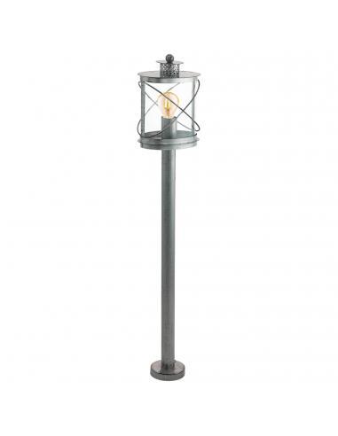EGLO 94868 - HILBURN 1 Lámpara de pie en Acero galvanizado y Acrílico