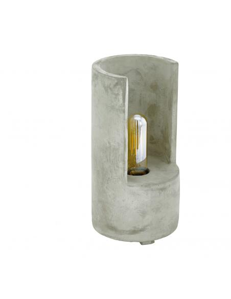 EGLO 49111 - LYNTON Lámpara de Salón en Hormigón gris