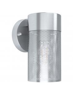 EGLO 98741 - FANTECOLO Lámpara de pared en Acero inoxidable y Vidrio