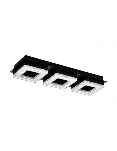 EGLO 99325 - FRADELO 1 Lámpara de pared / techo en Acero y Acrílico, cristal