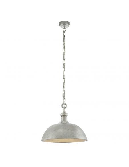 EGLO 49181 - EASINGTON Lámpara de Salón en Acero níquel