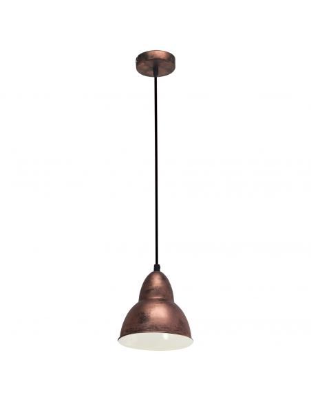 EGLO 49235 - TRURO Lámpara colgante de Cobre en Acero colores de cobre antiguo