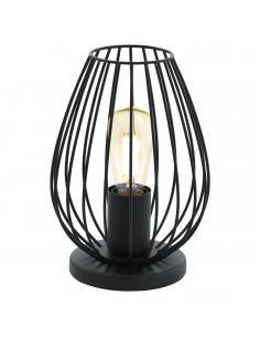 EGLO 49481 - NEWTOWN Lámpara de Salón en Acero negro