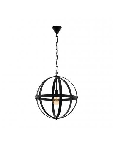 EGLO 49516 - BARNABY Lámpara de Salón en Acero negro