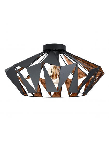 EGLO 43399 - CARLTON 6 Lámpara de techo en Acero