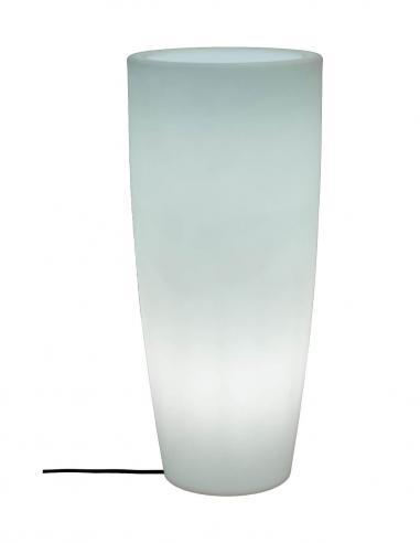 NEW GARDEN - BAMBÚ Macetero con luz RGB Ø90 cm