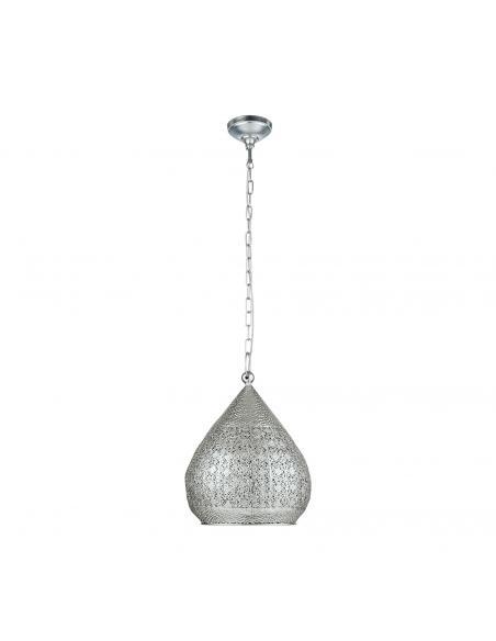 EGLO 49716 - MELILLA Lámpara de Salón en Acero plata