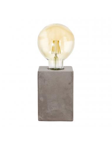 EGLO 49812 - PRESTWICK Lámpara de Salón en Cerámica gris