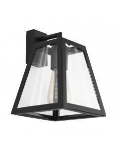 EGLO 49889 - AMESBURY 1 Lámpara de Salón en Acero negro y Vidrio
