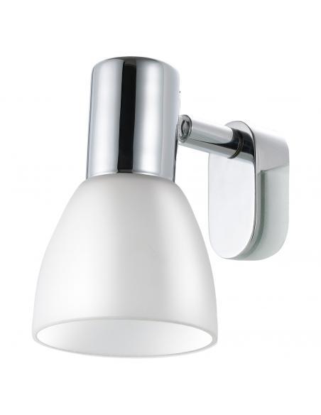 EGLO 85832 - STICKER Lámpara de Salón en Acero cromo y Vidrio opalino mate