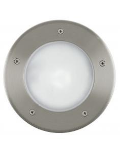 Regleta de un foco dirigible en acero cromado negro con bombillas LED BIMEDA