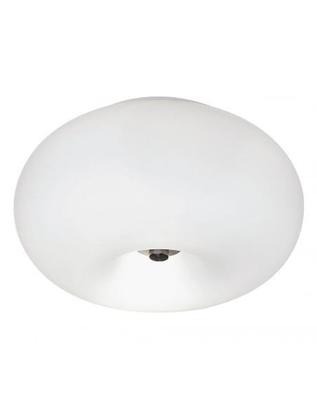 EGLO 86811 - OPTICA Lámpara de Salón en Acero níquel-mate y Vidrio opalino mate
