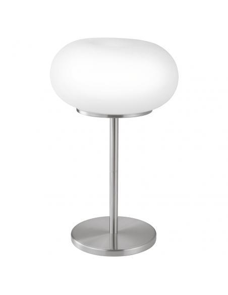 EGLO 86816 - OPTICA Lámpara de Salón en Acero níquel-mate y Vidrio opalino mate