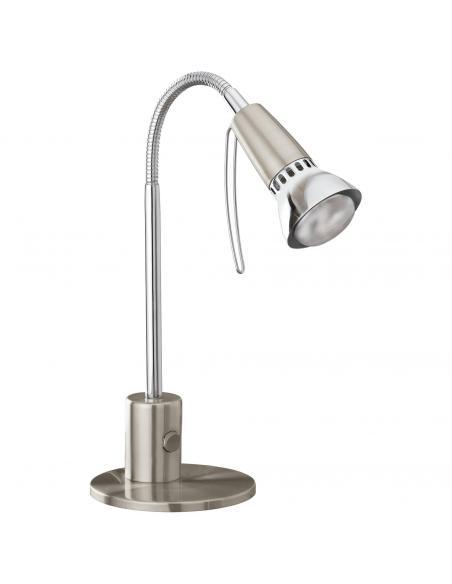EGLO 86955 - FOX 1 Lámpara de Oficina en Acero níquel-mate, cromo