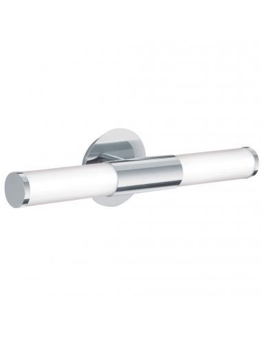 EGLO 87219 - PALMERA Aplique para Baño en Acero cromo y Vidrio opalino mate