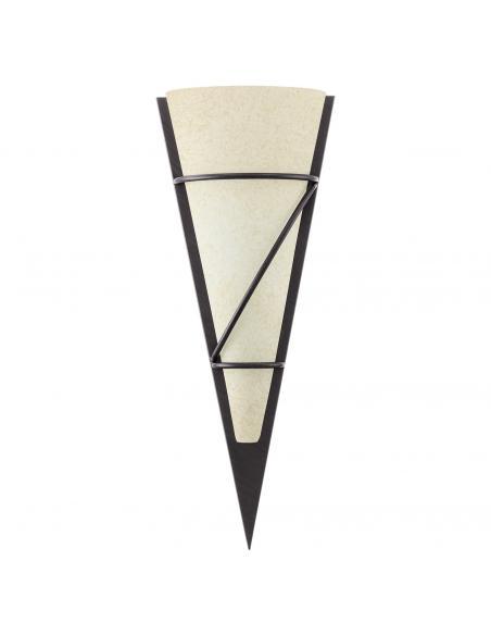 EGLO 87793 - PASCAL 1 Lámpara de Salón en Acero marrón antiguo y Vidrio encalado