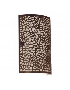 EGLO 89115 - ALMERA Lámpara de Salón en Acero marrón antiguo y Vidrio
